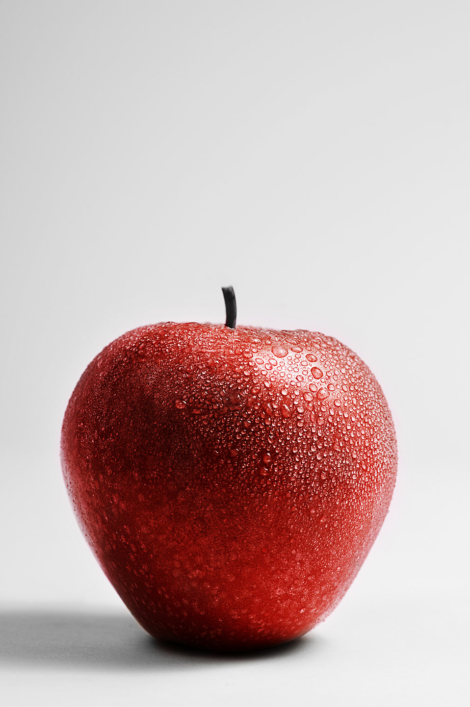 A fresh red Rome Beauty apple : Free Stock Photo