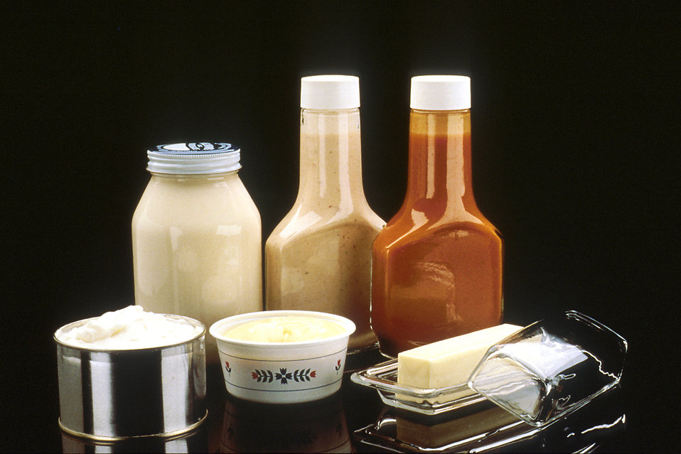 Fat, butter and oil condiments : Free Stock Photo