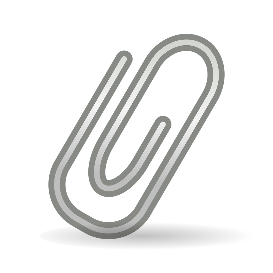 paper clip | free stock photo | illustration of a paper clip | # 17379