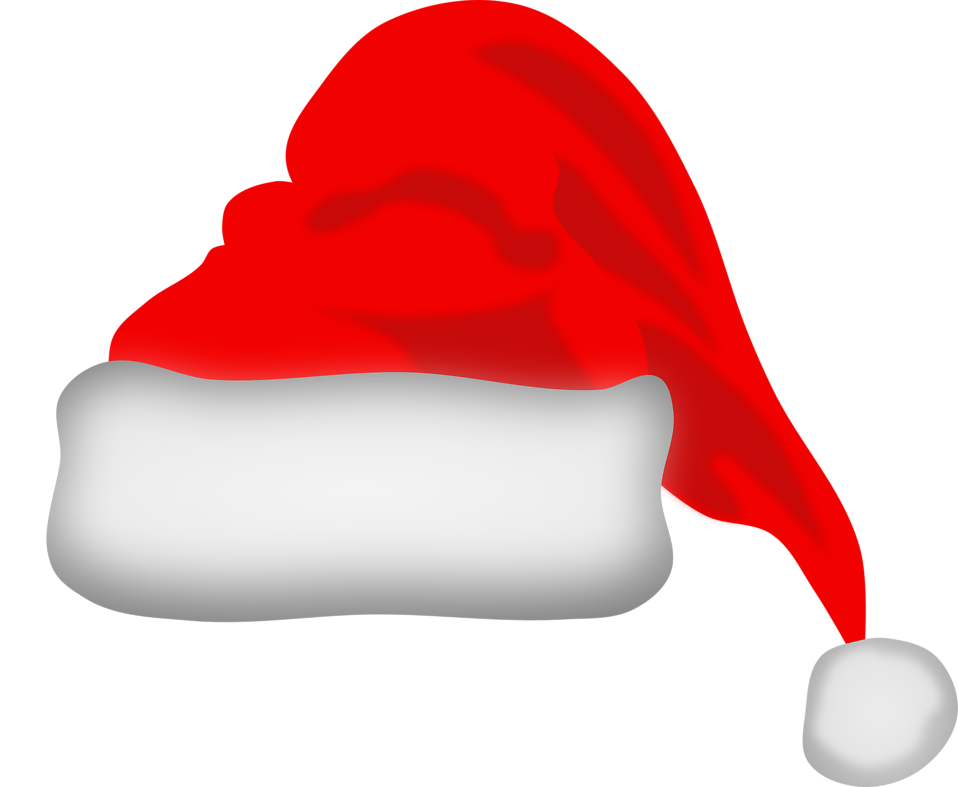 Hat santa free stock photo illustration of a red santa hat