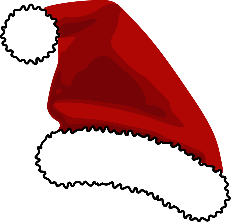 santa hat clipart with transparent background - photo #16