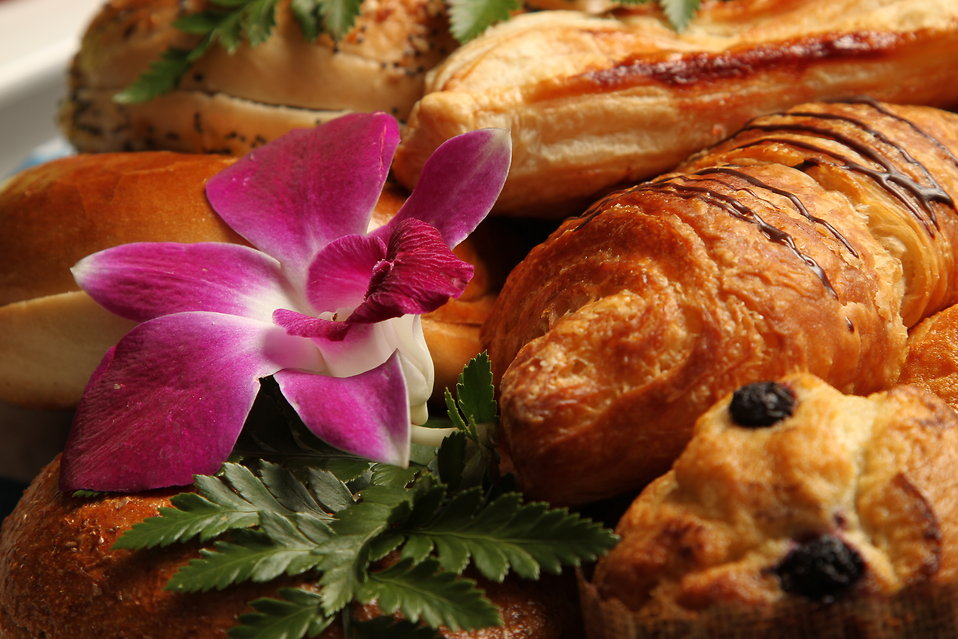 An assortment of breads and pastries : Free Stock Photo