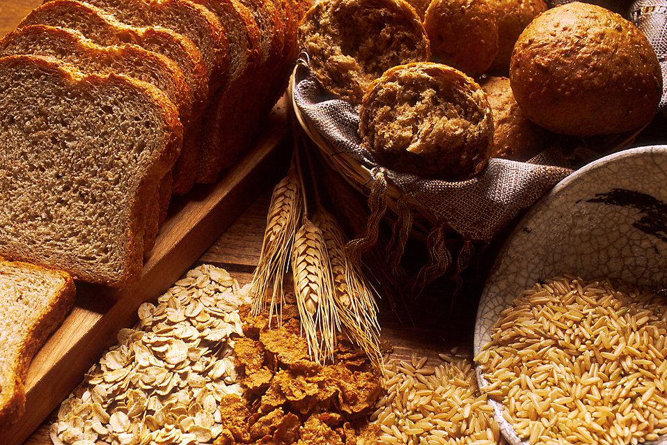 Various breads and grains : Free Stock Photo