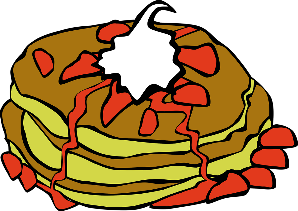 Illustration of pancakes : Free Stock Photo