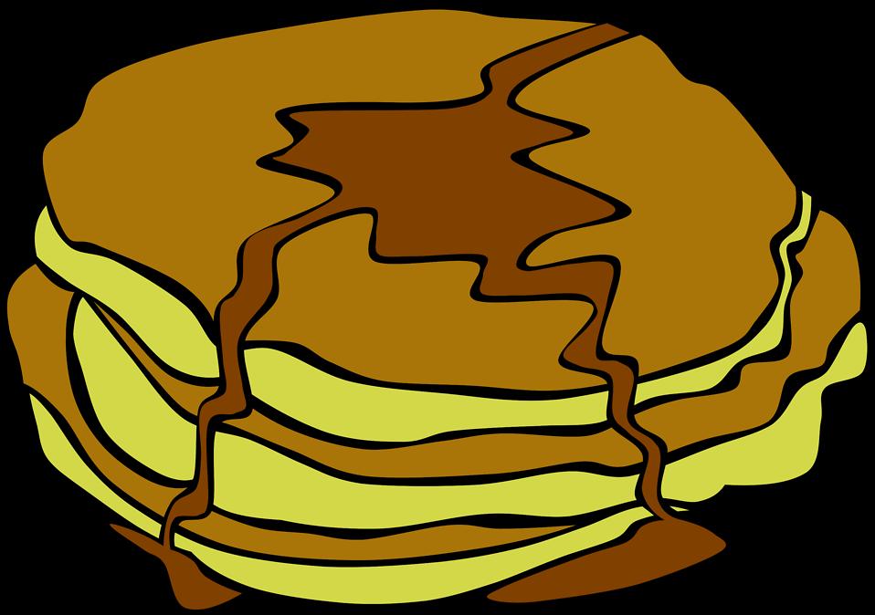 Illustration of pancakes : Free Stock Photo