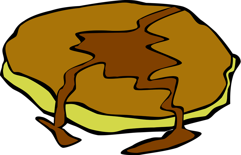 Illustration of a pancake : Free Stock Photo