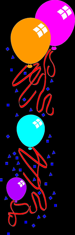 Illustration of balloons : Free Stock Photo