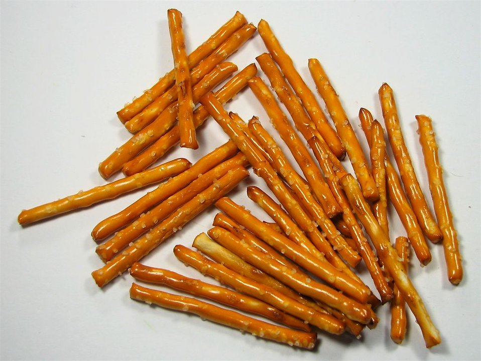 Pretzel sticks : Free Stock Photo