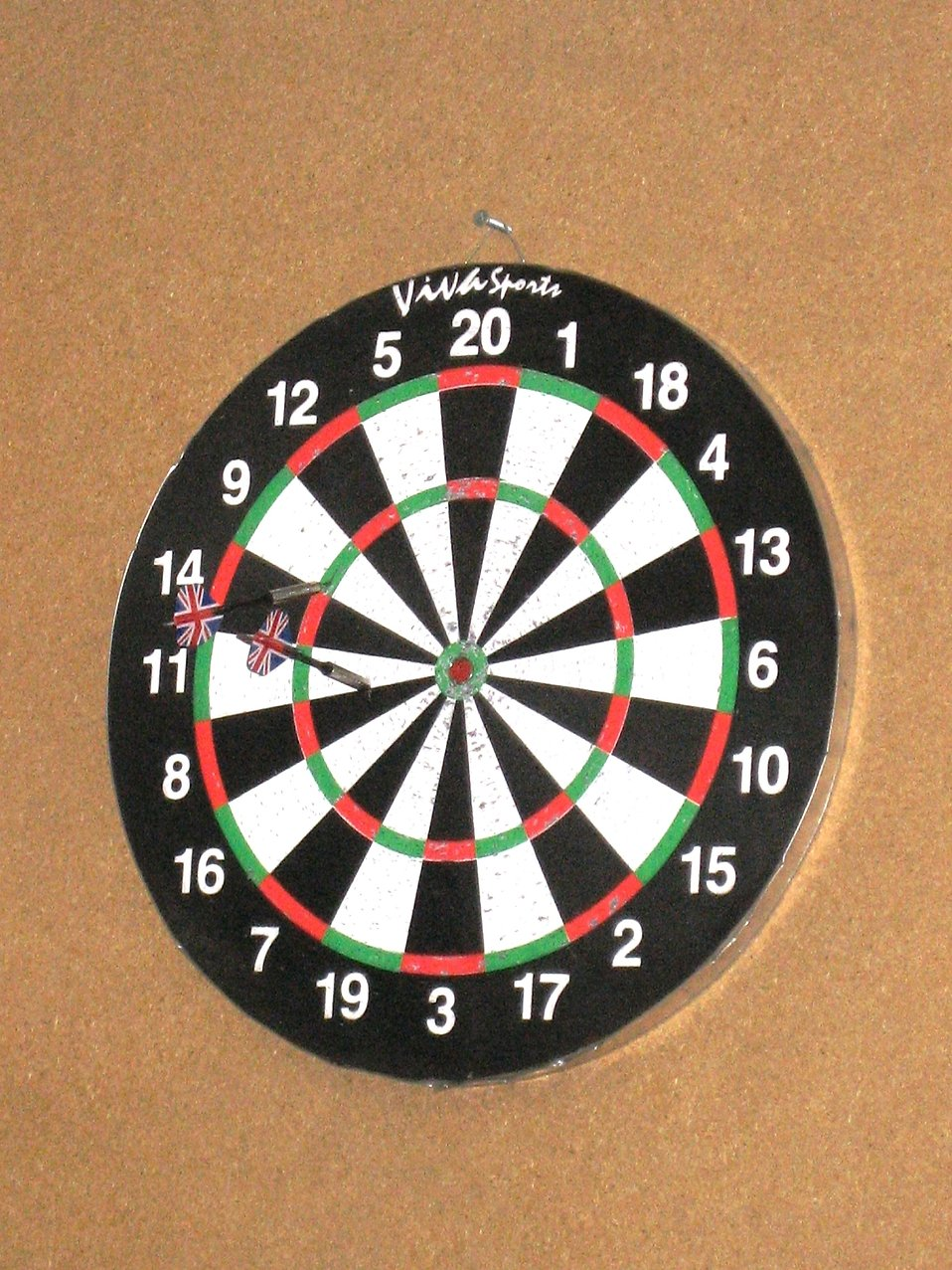 A dartboard : Free Stock Photo