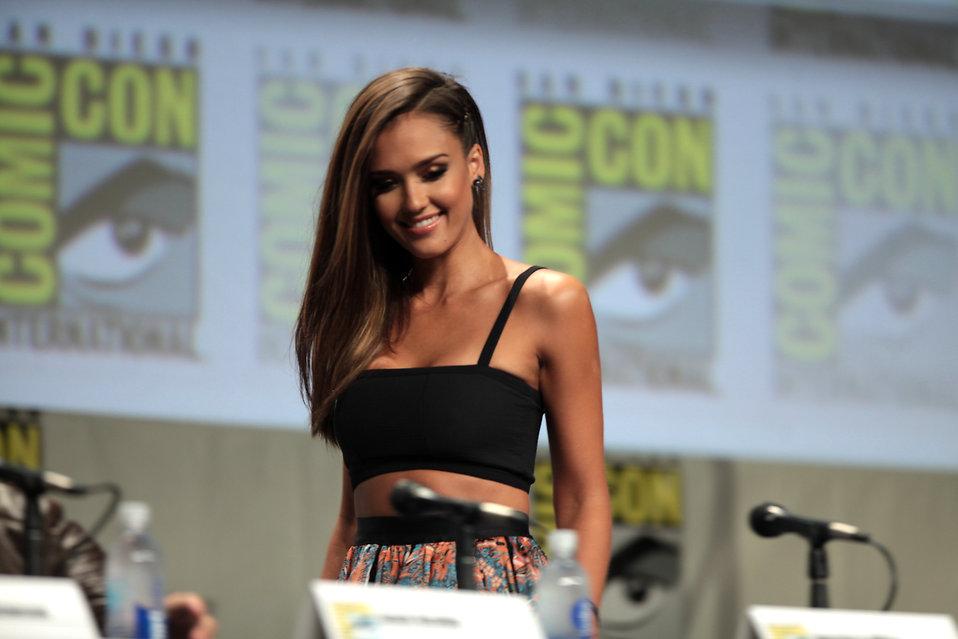 Jessica Alba at 2014 San Diego Comic Con International : Free Stock Photo