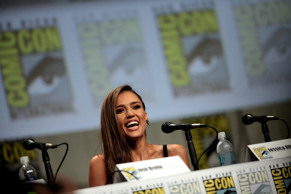 Jessica Alba at 2014 San Diego Comic Con International : Free Stock Photo