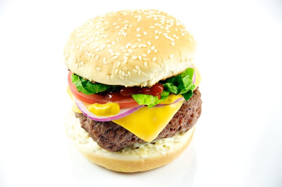 Cheeseburger : Free Stock Photo