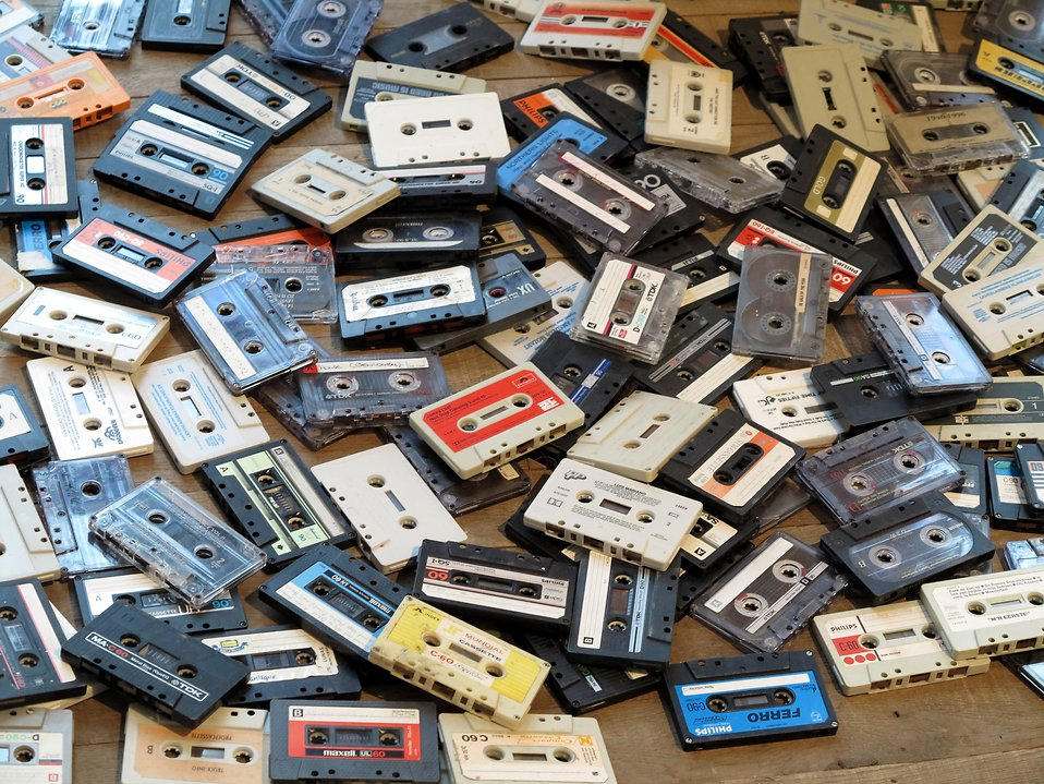 Audio cassettes : Free Stock Photo