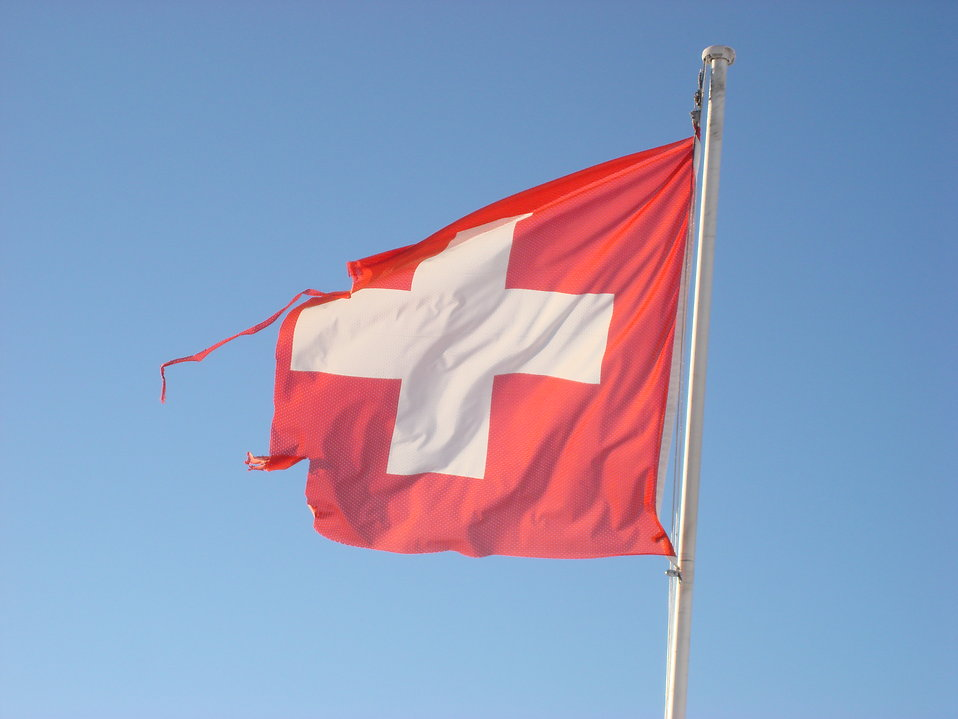 Swiss flag : Free Stock Photo
