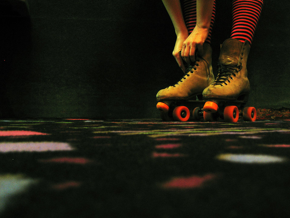 Don't forget to lace-up your skates