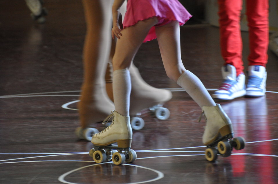 Roller skating : Free Stock Photo