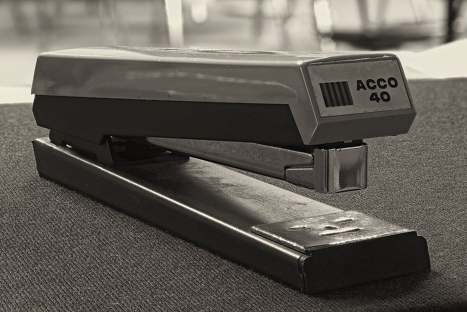 Stapler : Free Stock Photo