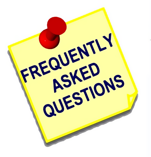 Frequently asked questions post note : Free Stock Photo