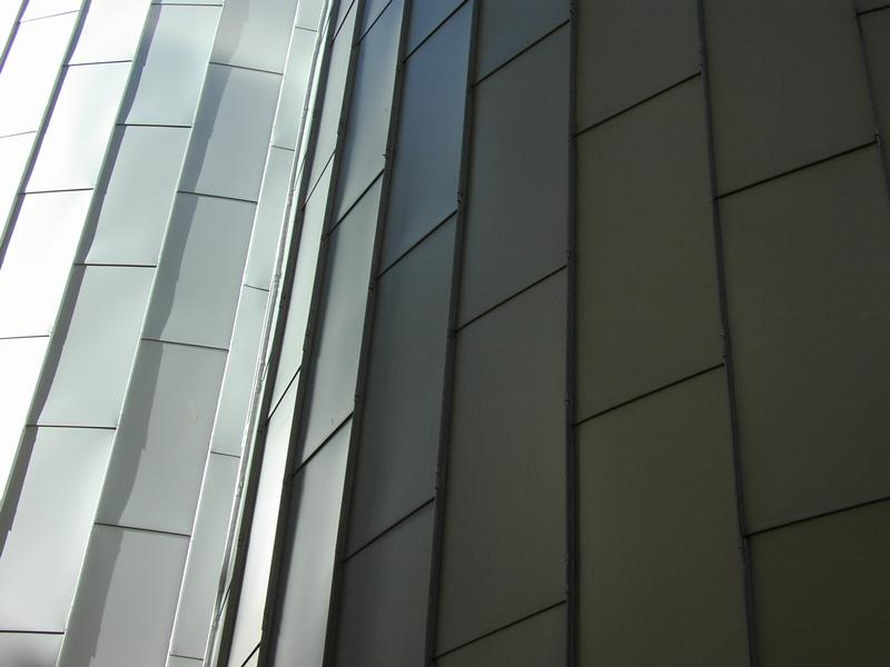 Closeup of shingles on a roof : Free Stock Photo