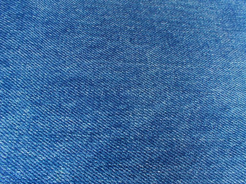 Closeup of denim fabric : Free Stock Photo