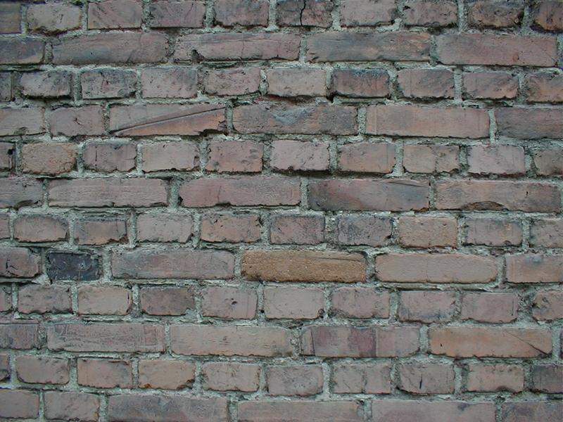 Closeup of a brick wall : Free Stock Photo