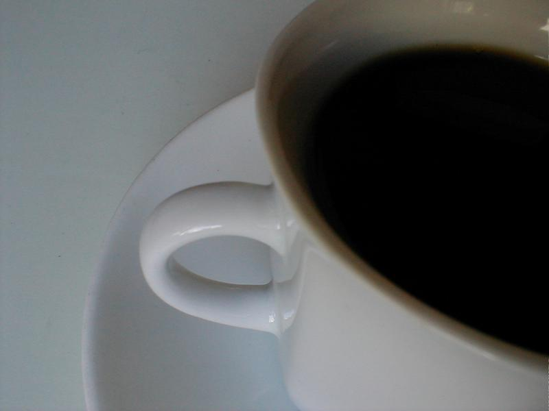 Closeup of a cup of coffee : Free Stock Photo