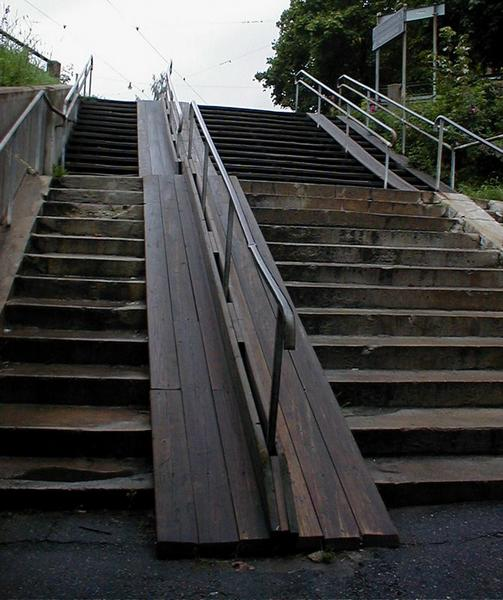 Old wooden stairs : Free Stock Photo
