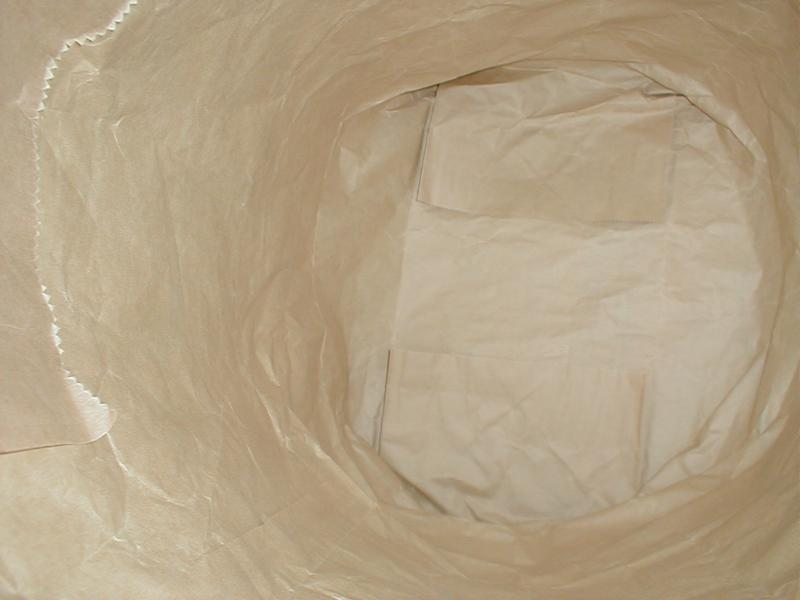 Inside of brown paper bag : Free Stock Photo