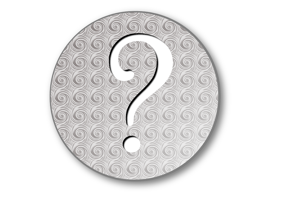Illustration of a question mark button : Free Stock Photo