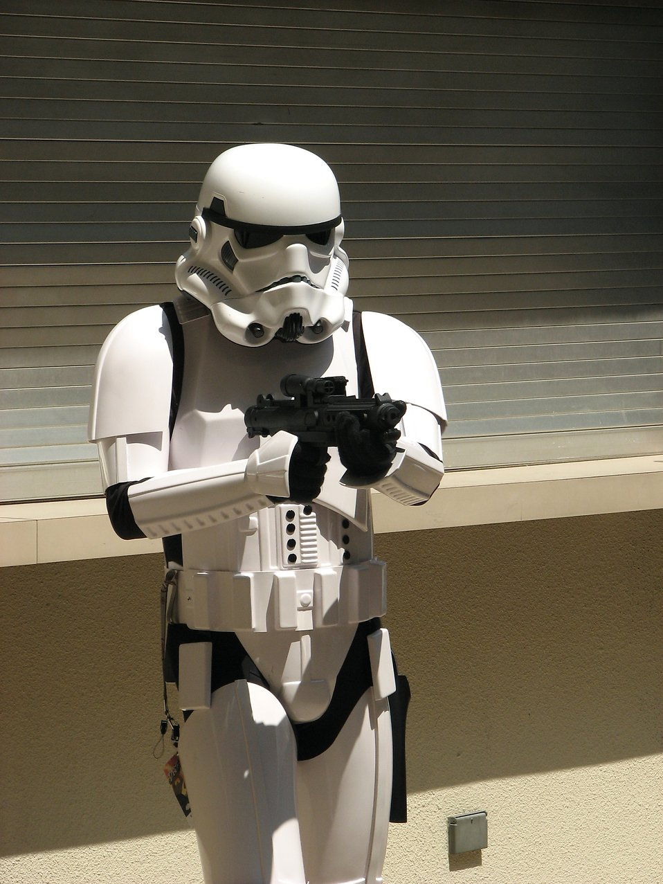 Man in stormtrooper costume at Dragoncon 2008 : Free Stock Photo