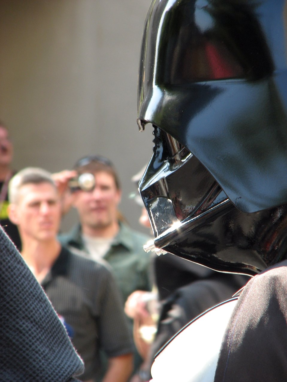 Closeup of Darth Vader in the 2008 Dragoncon parade : Free Stock Photo
