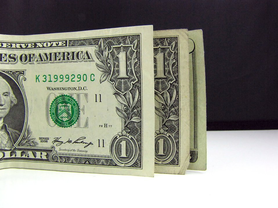 Close-up of US dollars : Free Stock Photo