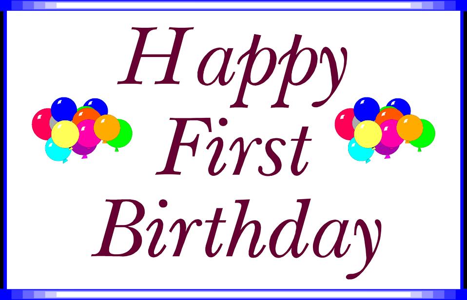 Happy birthday illustration with balloons : Free Stock Photo