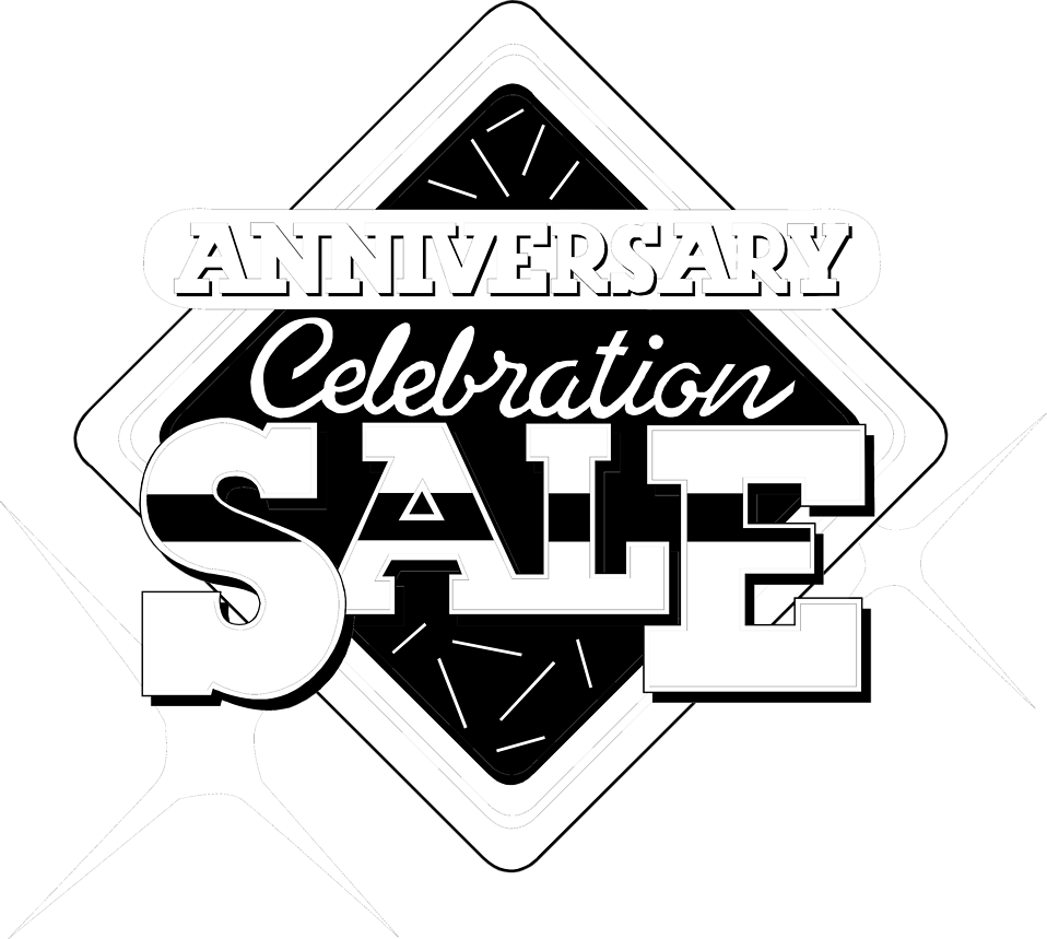 Illustration of an anniversary sales promo text : Free Stock Photo