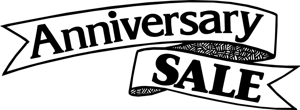 Illustration of an anniversary sale banner : Free Stock Photo
