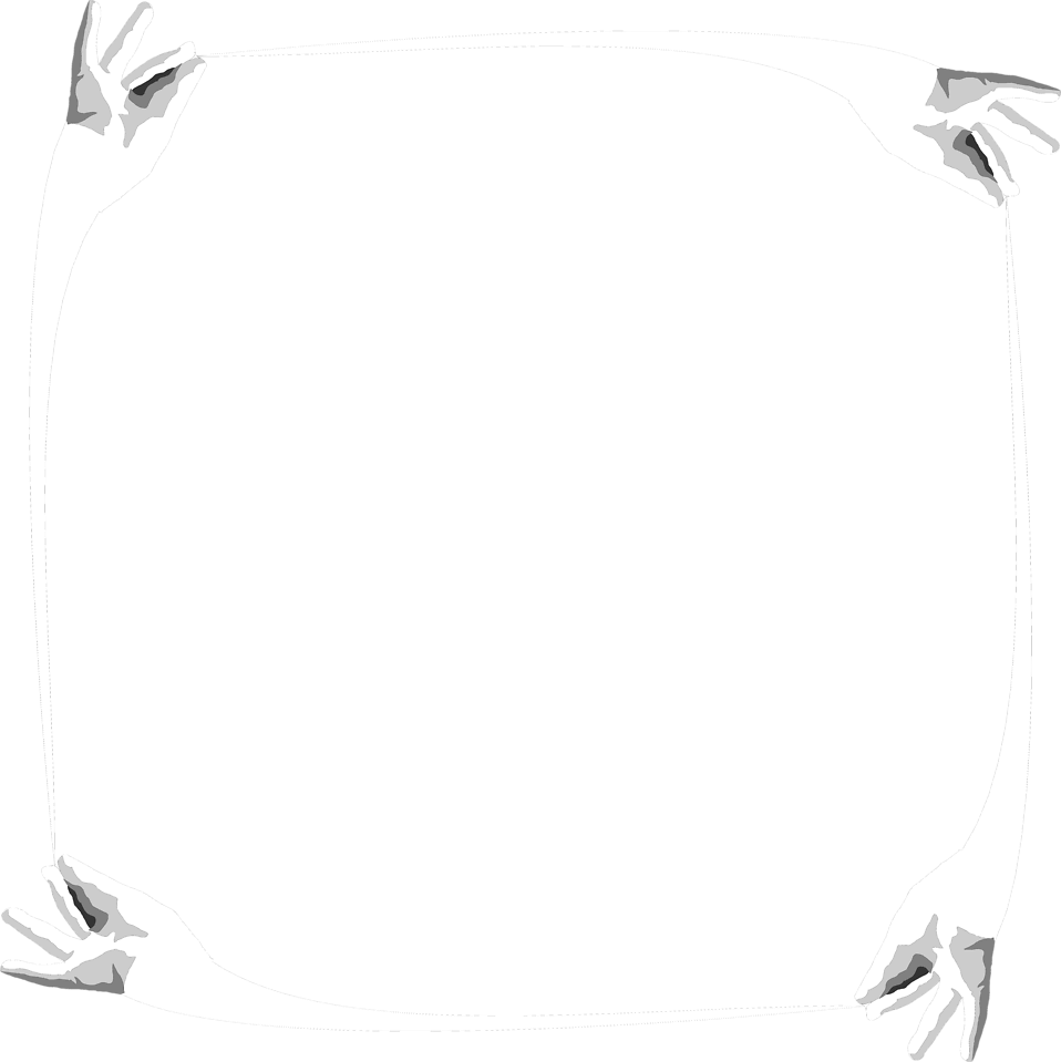 Illustration of a blank frame of hands : Free Stock Photo