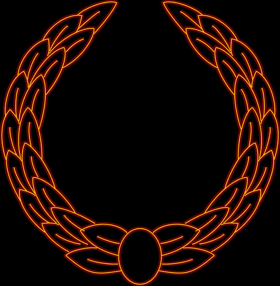 Illustration of a blank wreath : Free Stock Photo