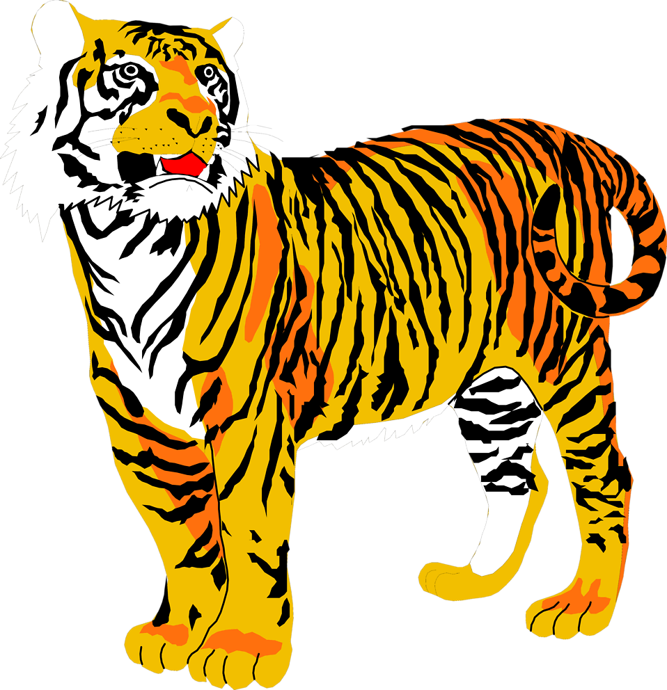 Tigers | Free Stock Photo | Illustration of a tiger | # 3001
