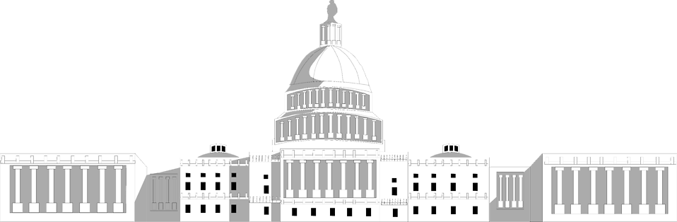 Illustration of the US Capitol Building in Washington, DC : Free Stock Photo
