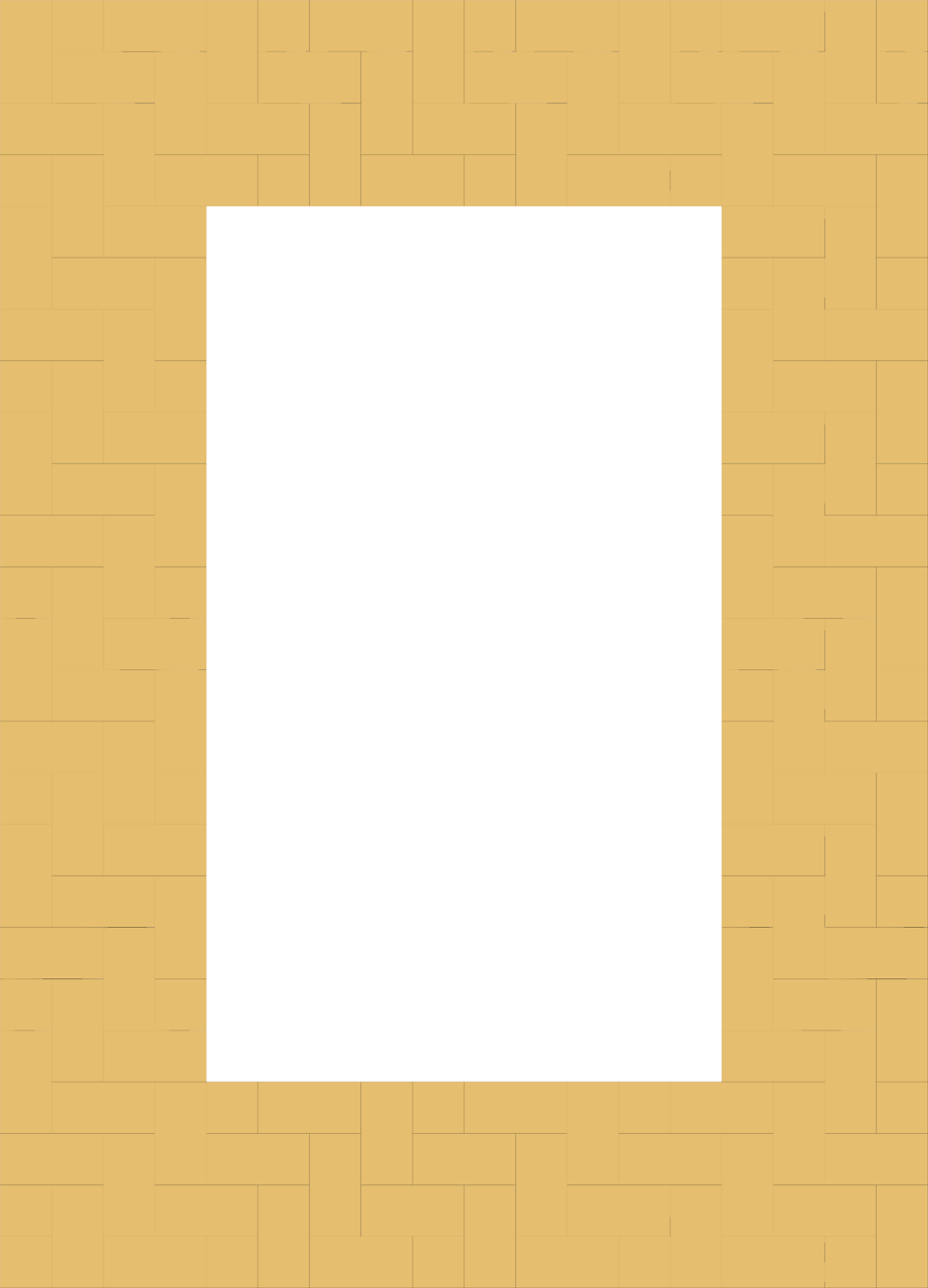Illustration of a blank brick frame border : Free Stock Photo