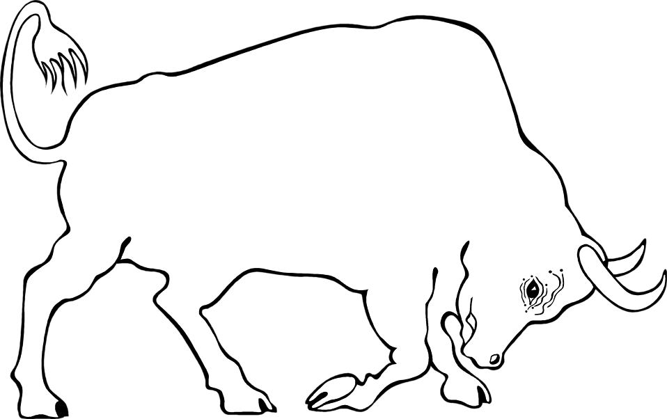Illustration of a bull : Free Stock Photo