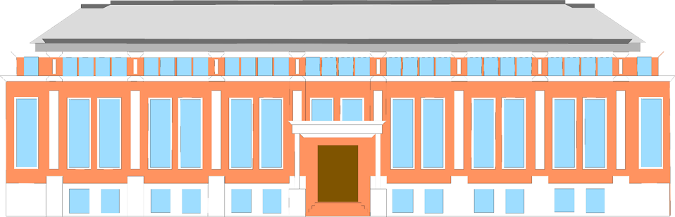 Illustration of an office building : Free Stock Photo