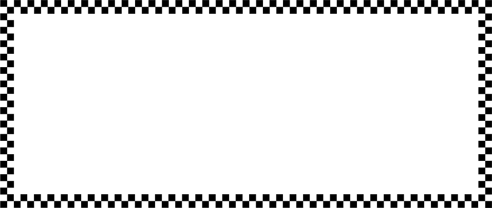 Illustration of a blank checkered frame border : Free Stock Photo