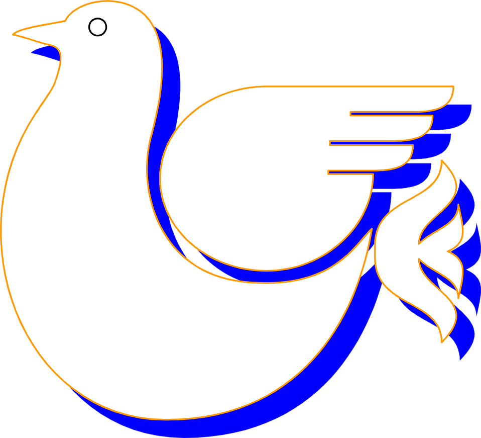 Illustration of a dove : Free Stock Photo