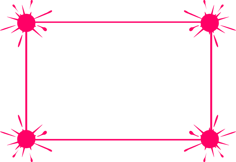 Pink Borders and Frames Clip Art