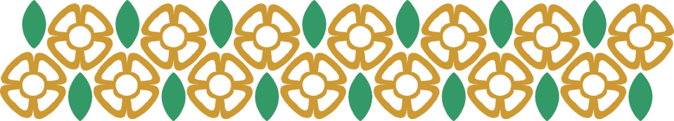 Illustration of a yellow flower border : Free Stock Photo