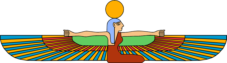 Illustration of an Egyptian symbol : Free Stock Photo