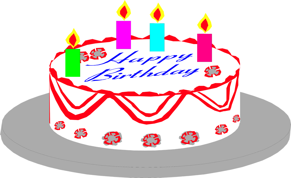 Cake Birthday | Free Stock Photo | Illustration of a ...