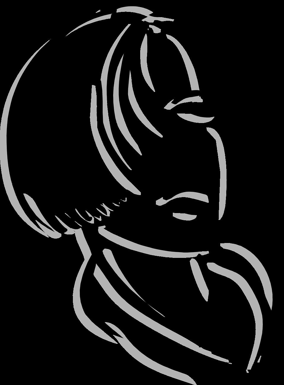 Illustration of a beautiful woman : Free Stock Photo