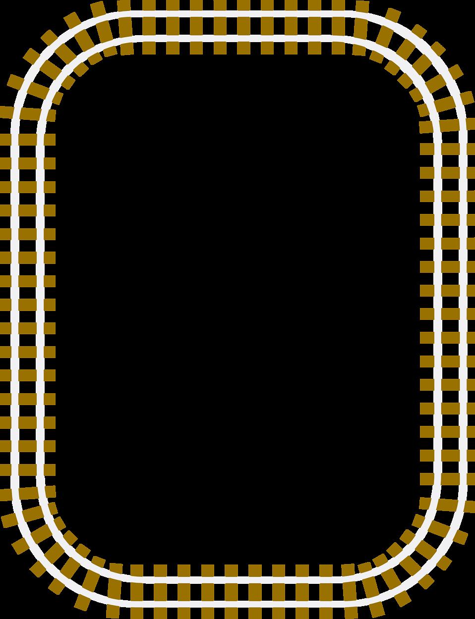 Train Track Clip Art